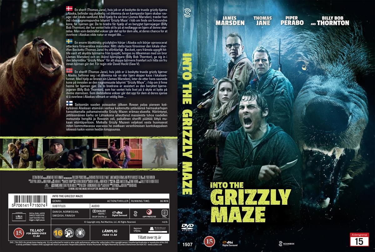 Into the Grizzly Maze cover Filmecske.hu