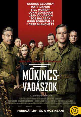 Műkincsvadászok (The Monuments Men) - online film
