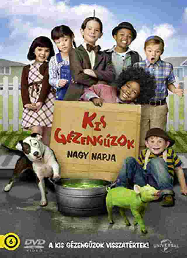 Kis Gézengúzok nagy napja (The Little Rascals Save the Day) - online film