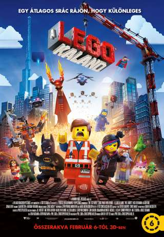 A Lego kaland (The Lego Movie) - online film