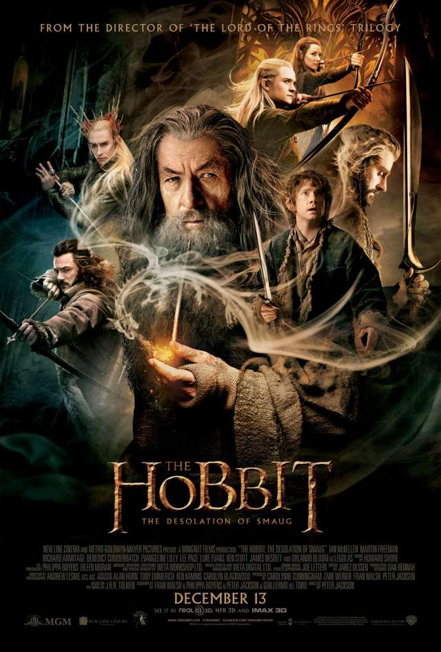 A hobbit - Smaug pusztasága (The Hobbit: The Desolation of Smaug) - online film