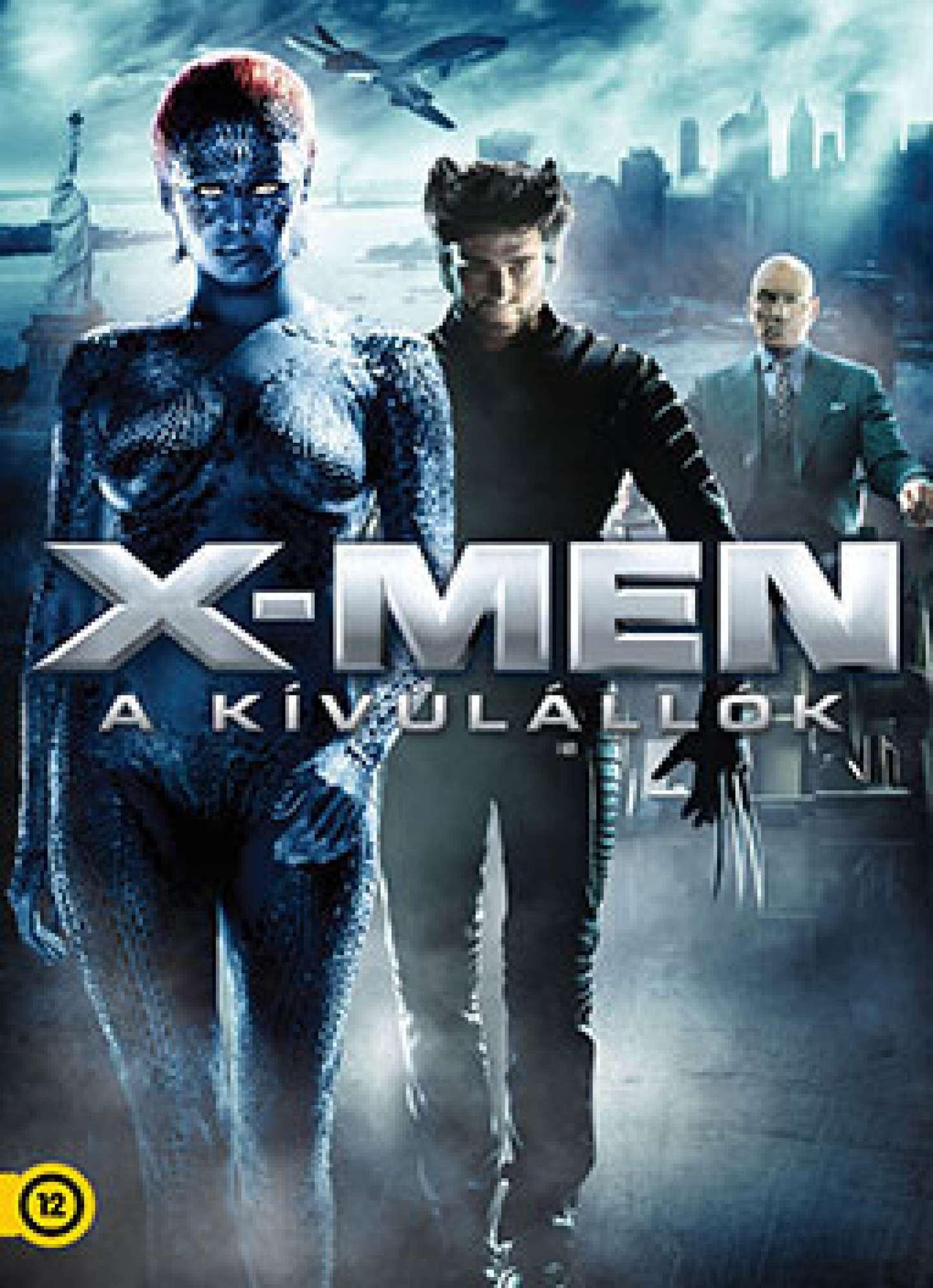 X Men 2000 Mystique X-Men - A kív...