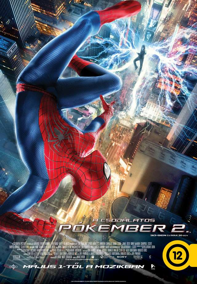 A csodálatos Pókember 2. (The Amazing Spider-Man 2) - online film