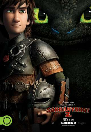 Így neveld a sárkányodat 2. (How to Train Your Dragon 2) - online film