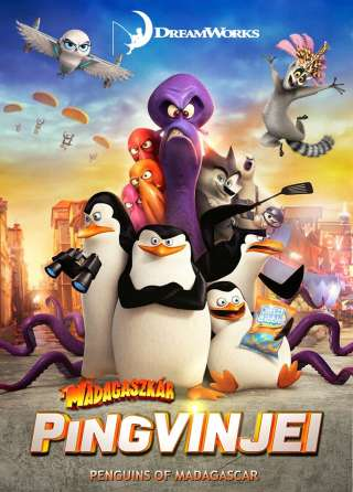 A Madagaszkár pingvinjei (The Penguins of Madagascar) - online film