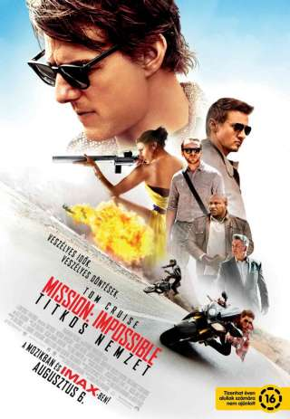 Mission: Impossible - Titkos nemzet - online film