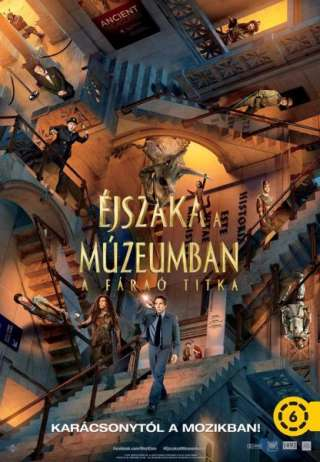 Éjszaka a múzeumban - A fáraó titka (Night at the Museum: Secret of the Tomb) - online film