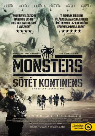 Monsters - Sötét kontinens - online film