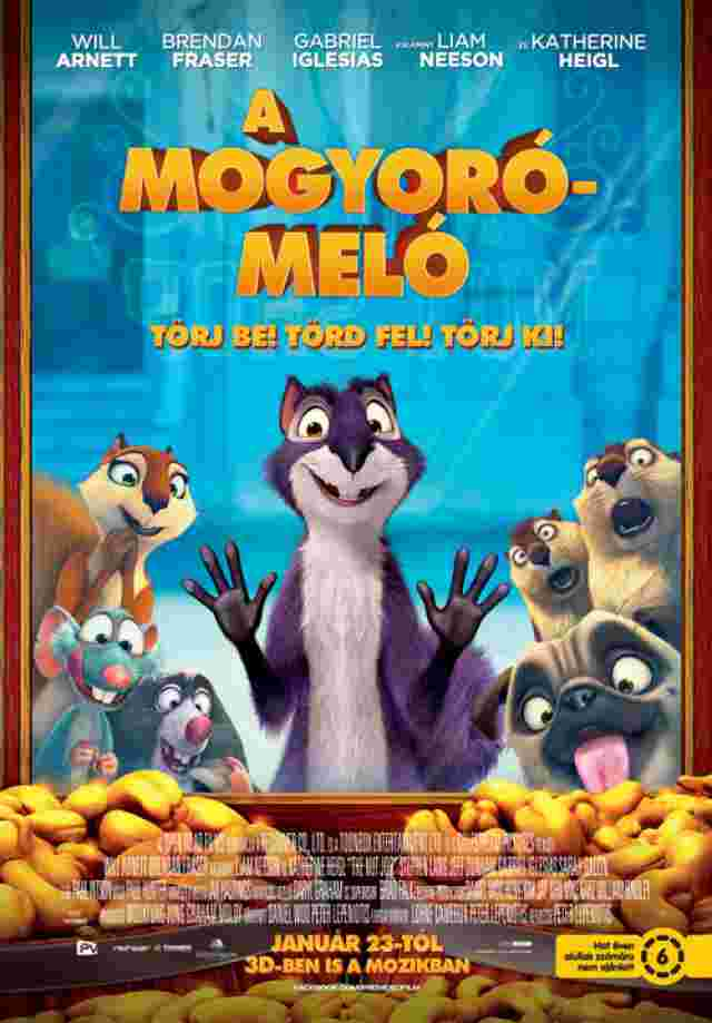 A mogyoró-meló (The Nut Job) - online film