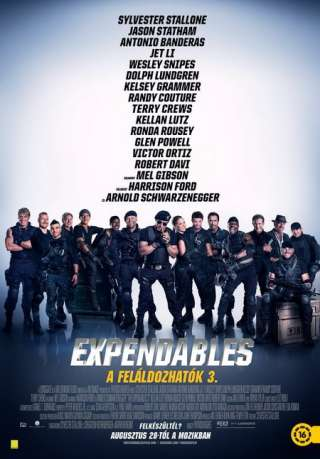 The Expendables - A feláldozhatók 3. (The Expendables 3) - online film